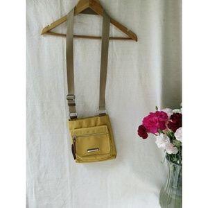 NWOT Franco Sarto Fall Mustard Crossbody Bag